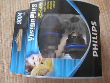 PHILIPS VISION PLUS 9004 12V VP S2 25-50 FEET LONGER BEAM HEADLIGHTS