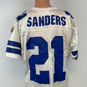 Wilson Deion Sanders Dallas Cowboys Replica Jersey Vtg 90s NFL Football USA L