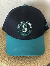brand new 665b8 66fe2 Seattle Mariners New Era MLB Peoria AZ Spring Training Baseball Hat  39Thirty NWT