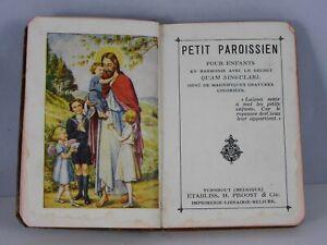 PETIT PAROISSIEN POUR ENFANTS N° 1231 ETS H.PROOST&Cie 1938 96 PAGES