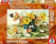 NEW! Schmidt Spring Blossoms by Marjolein Bastin 1000 piece jigsaw puzzle 59573