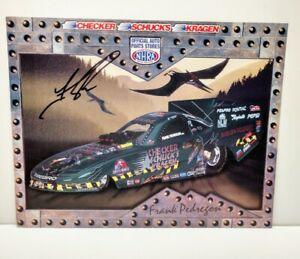2001 Frank Pedregon signed Jurassic Park III Pontiac Firebird FC NHRA Hero Card