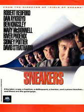 SNEAKERS Movie POSTER 27x40 B Robert Redford Sidney Poitier River Phoenix Dan