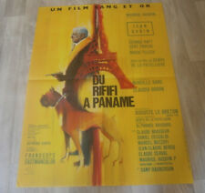 Filmplakat - DU RIFIFI  A PANAME  -- Jean Gabin