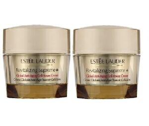 Estee Lauder Revitalizing Supreme + Global Anti-Aging Cell Power Cream 2 x15ml