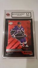 Wayne Gretzky 2013-14 Black Diamond Ruby #42/50 KSA Graded 8.5!!