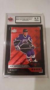 Wayne Gretzky 2013-14 Black Diamond Ruby #42/50 Hockey Card KSA Graded 8.5!!