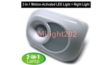 Motion-Activated LED Night Light For AC Outlet Plug-In No Wiring Needed