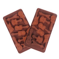DIY Guitar Shape Silicone Chocolate Molds Jelly Pudding Ice Cube Cake Mold
