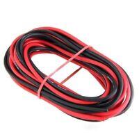 2 x 3M 16 Gauge AWG Silikon Gummi Draht Kabel - Rot & Schwarz _x000D__x000D_ GY