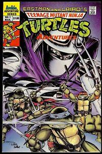 Teenage Mutant Ninja Turtles Adventures #1 1989 Archie...VF but presents NM+