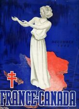FRANCE-CANADA BULLETIN OF THE FREE FRENCH COMMUNITIES IN CANADA 1942 WW2 Issue 1