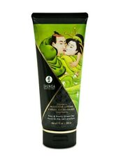 Shunga Kissable Massage Cream - Pear & Exotic Green Tea - 7oz