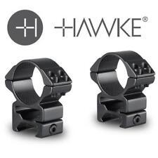 Hawke Match Ring Mounts Weaver 30mm High Scope Mount Double Screw