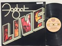 Foghat Live VG+ ORIG DIE CUT COVER Fool For The City Slow Ride