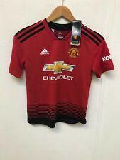 Manchester United Kid's adidas 18/19 Home Shirt - 11-12 Years - CRAMPTON 11  New