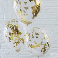 20pcs/set 12inch Latex Confetti Filled Balloons  for Wedding Birthday Decor 66