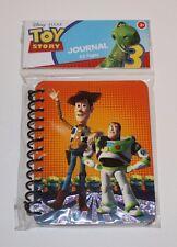 Toy Story Journal Disney Pixar Woody Buzz Lightyear Paper Notebook Pad NEW