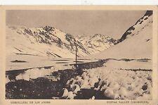 B80740 cordillera de los andes cuevas valley   argentina  front/back image