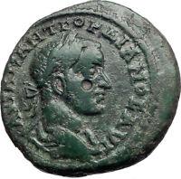 GORDIAN III 238AD Marcianopolis Moesia Large Ancient Roman Coin Fortuna i74127