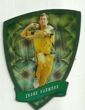 Cricket Australia Select 2009/10 DIE CUT FDC28 SHANE HARWOOD ODI TEAM CARD ACB