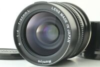 【MINT】 Mamiya N 65mm f/4 L MF Lens For Mamiya 7 7II w/ F/R cap from Japan