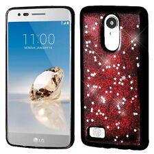 Krystal Soft Glitter Cover Slim Case for LG Aristo Fortune K8 2017 Phoenix 3
