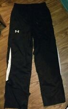 MENS (S) NICE! BLACK- UNDER ARMOUR- ATHLETIC/TRAINING PANTS- ALL SEASON GEAR