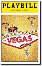 Color Playbill Honeymoon in Vegas Tony Danza Rob McClure Jason Robert Brown 2015