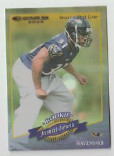 2000 DONRUSS JAMAL LEWIS ROOKIE SEASON STAT LINE NUMBERED /15 ROOKIE CARD #171