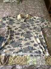 Men's Tommy Bahama Hawaiian Print Golf Polo Shirt Sz M ships from Sunny Florida!
