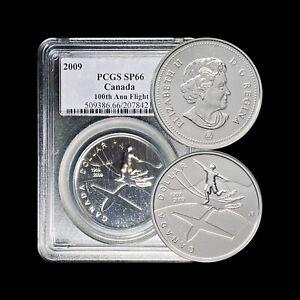 2009 Canada Dollar (Silver) - PCGS SP66 (Gem+ UNC) - Top Pop 🥇 Scarce