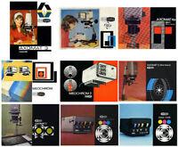 Meopta Axomat range Enlarger Instruction Manuals