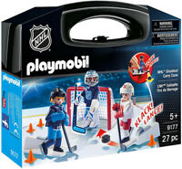 Playmobil NHL Shootout Carry Case 9177 (for Kids 5 & up)