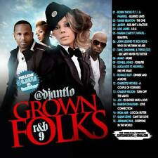 DJ ANT LO GROWN FOLKS SOUL & R&B CLASSICS MIX CD VOL 9