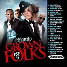 DJ ANT LO GROWN FOLKS SOUL & R&B CLASSICS MIX CD VOL 9