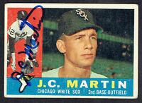 J.C. Martin #346 signed autograph auto 1960 Topps Baseball Trading Card