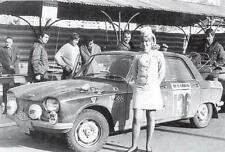 carte postale - PEUGEOT 204 Rallye Monte-Carlo 1969