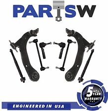 10 Pc Complete Suspension Kit for Cobalt HHR G5 Pursuit Lower Control Arms