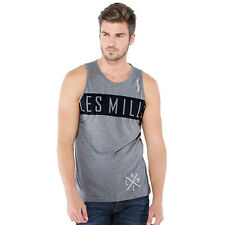 Men's training sleeveless shirt Reebok Les Mills Triblend Tank Wicking PlayDry