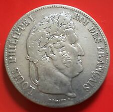 France 5 Francs Louis Philippe 1 silver 1839