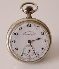 Ancienne montre gousset chronomètre à restaurer  vintage pocket watch.
