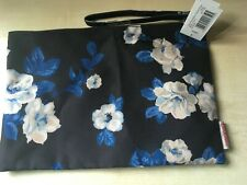 BNWT New Cath Kidston Pouch Bag - Crescent Rose Pattern - 27x19cm - RRP £14