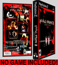 Fatal Frame 2  - PS2 Reproduction Art DVD Case No Game Playstation 2