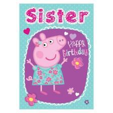 Peppa Pig Birthday Cards (Assorted)i