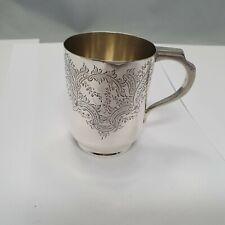 kl. Henkel - Becher Sterling Silber 925 punziert Walker & Hall ~1904