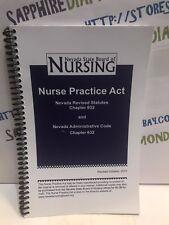 NEVADA STATE BOARD OF NURSING NURSE PRACTICE ACT 2012 USED