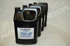 4 PK 1 GALLON ATLAS COPCO # GA-8K EQUIVALENT SYNTHETIC LUBRICANT COMPRESSOR OIL
