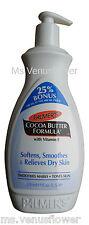 Palmer's Formule Beurre Cacao Pompe Lotion 500ml 25% Supplémentaire Gratuit