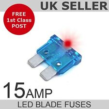 LED 15A Ampere standard fusibili a lama quantità 10